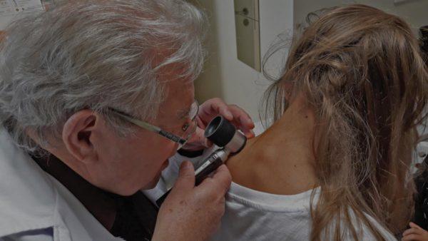 Dermatoszkópos anyajegyvizsgálat