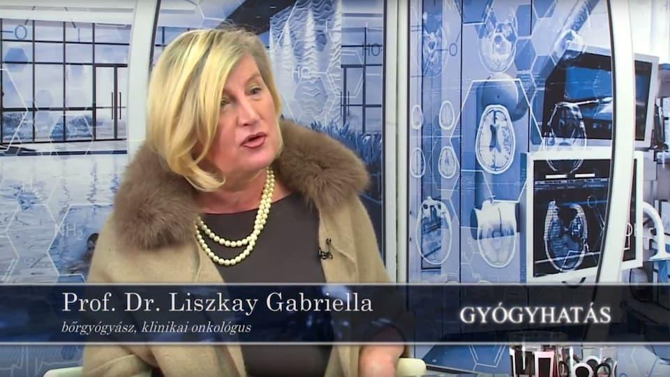 Prof Dr Liszkay Gabriella a Gyogyhatás c. műsor vendége volt
